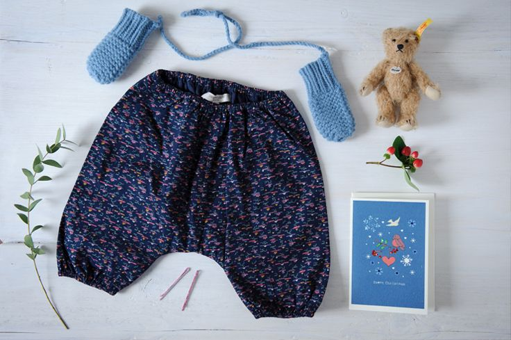 Festive prints!  http://www.caramel-shop.co.uk/baby/trousers/swalebabytrouser-midnightflagprint-3m.html