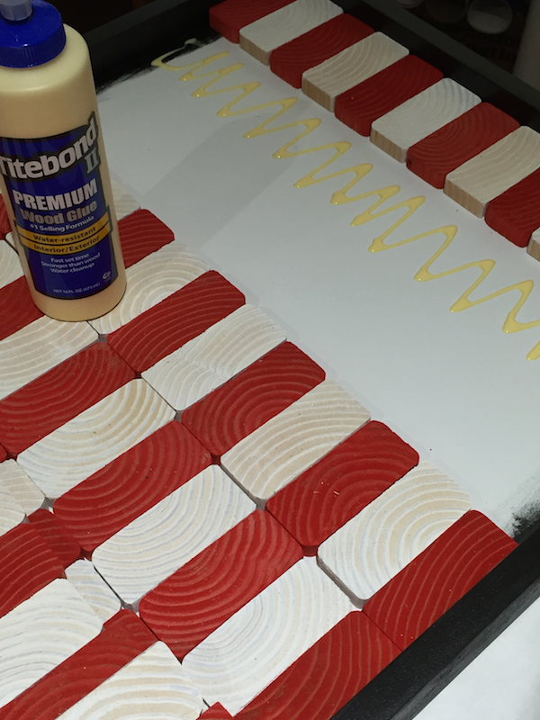 Make Your Own Wooden American Flag The Home Depot