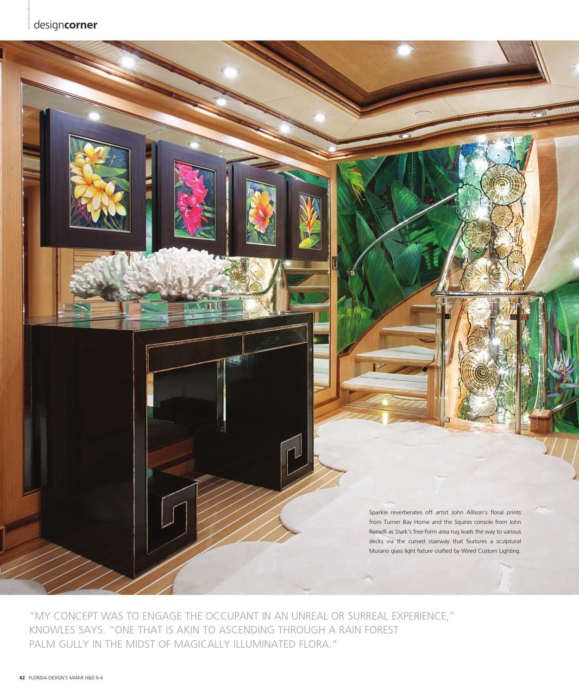 Florida Design, Yacht Interior