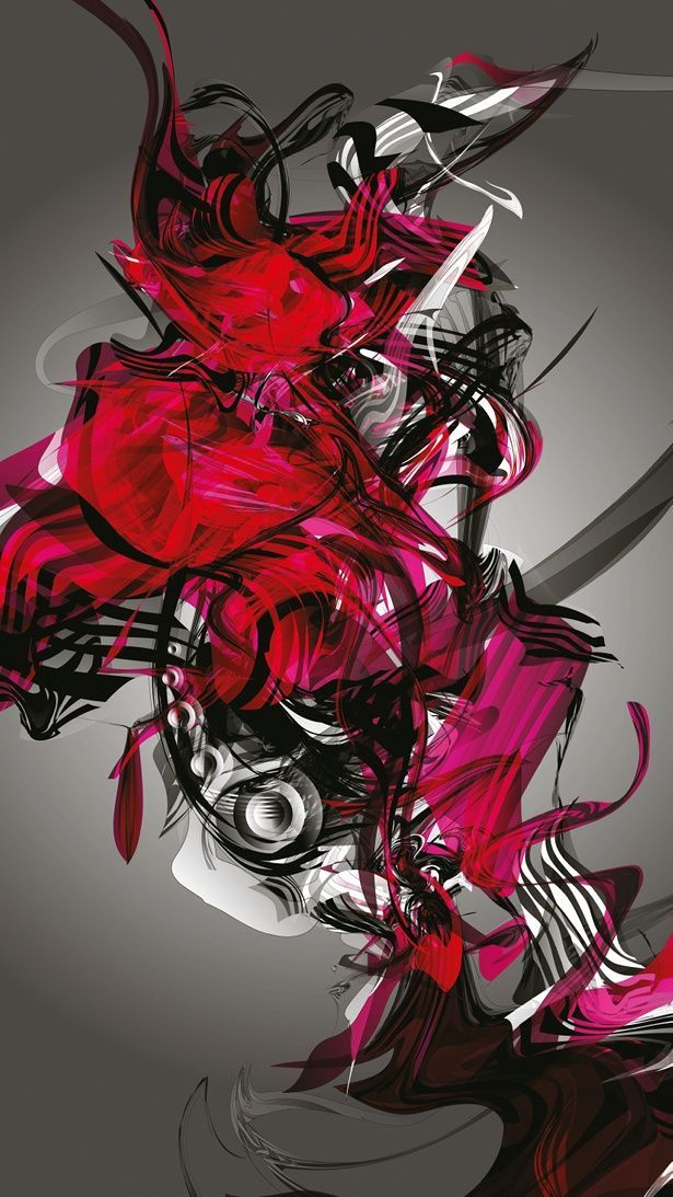 """titled """"Destroy"""" - it has so much energy and colour :)"""