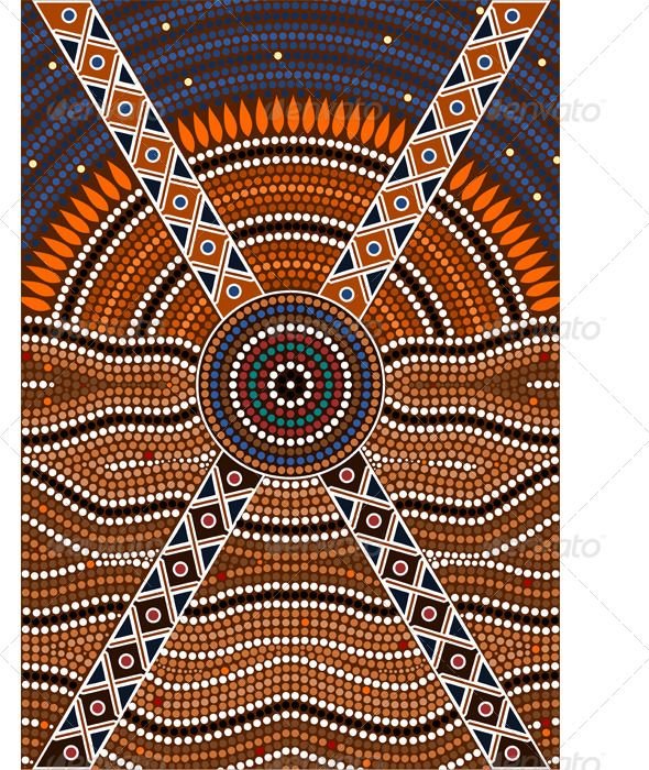 learn how to do aboriginal dot painting