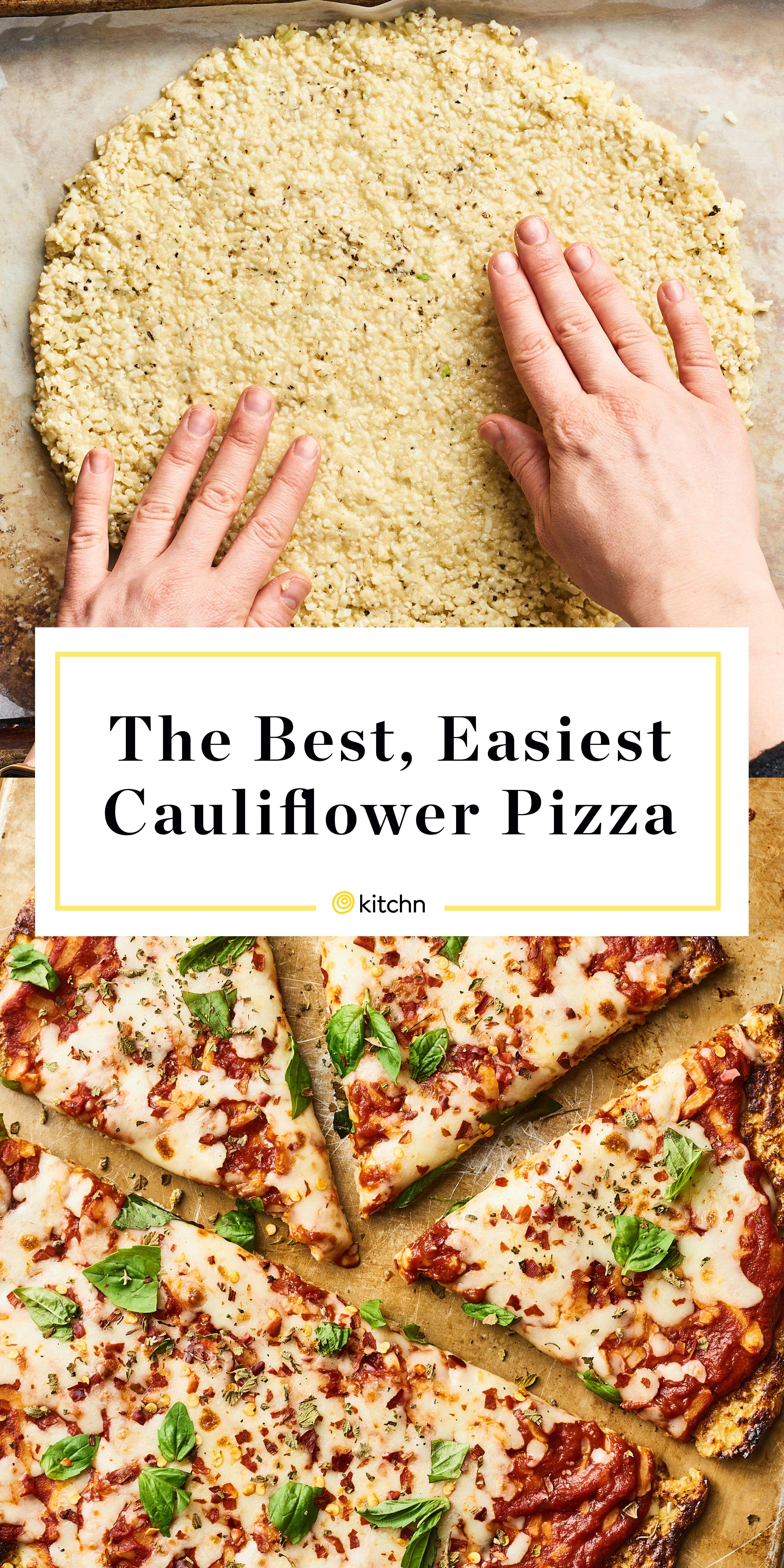 Cauliflower Pizza | Recipe | Cauliflower pizza, Easy ...