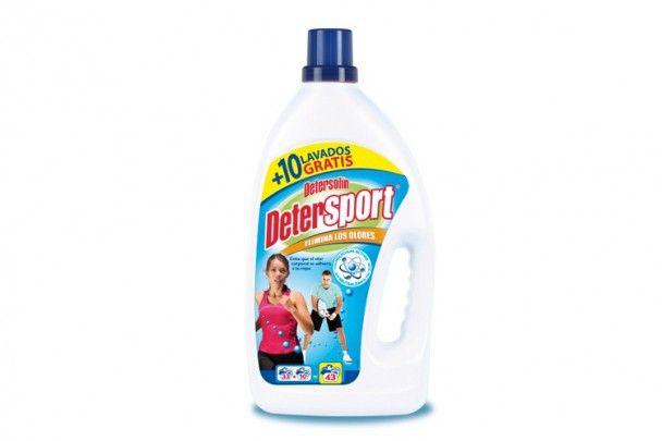 Detersolín DeterSport -Detergente líquido especial para la ropa de deporte.  Protege las prendas contra el mal olor. b1d065f2d17b8