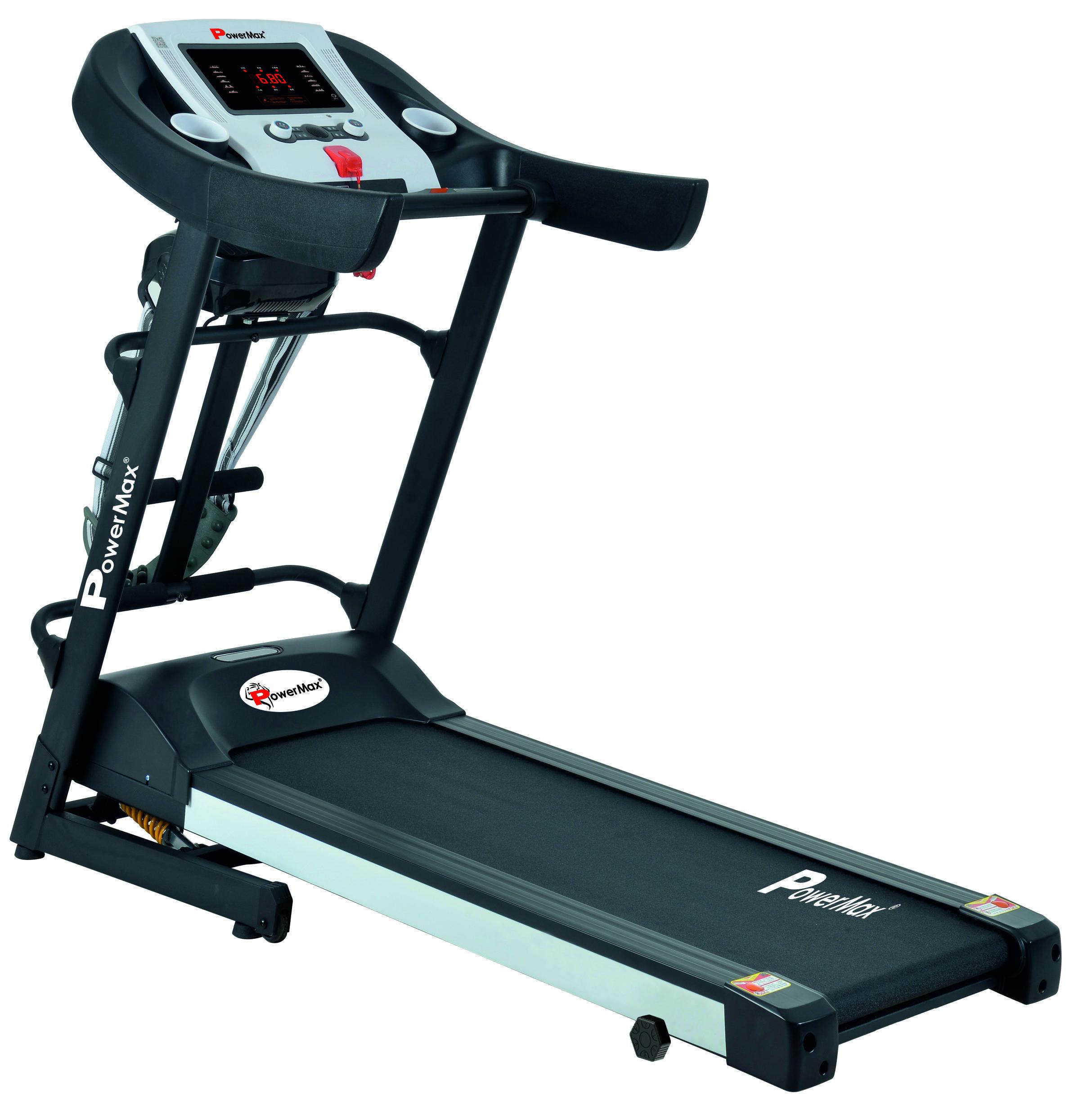 Treadmill By Powermax Fitness India Pvt Ltd On Treadmills Multi Gym Folding Treadmill