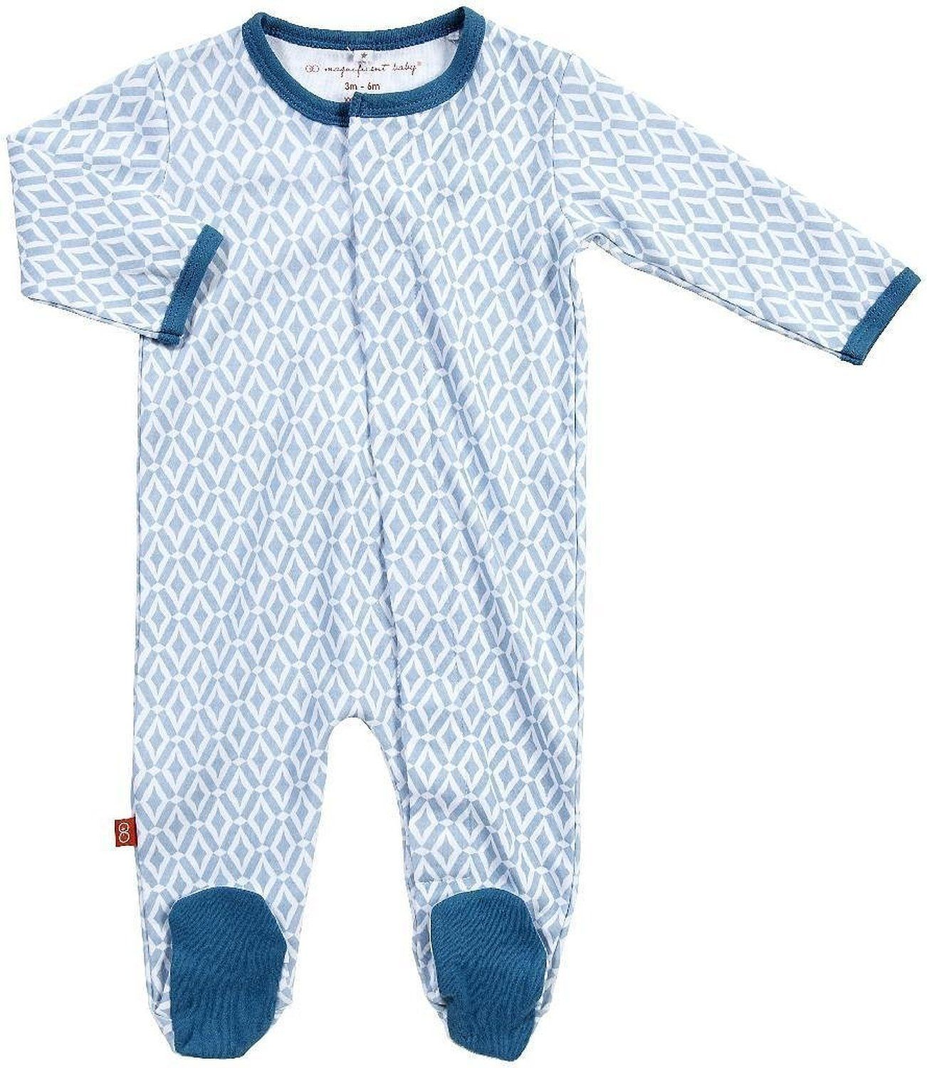 Amazon Magnificent Baby Baby Boys Footies Infant And Toddler