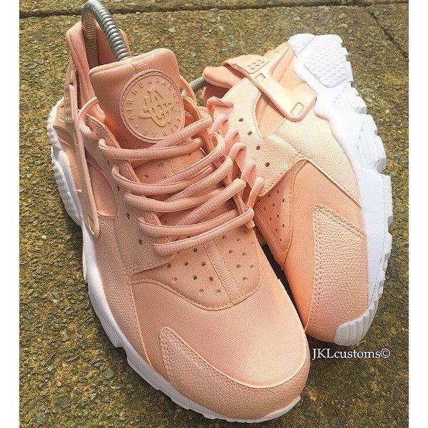 finest selection 55ffe e92d4 Rose Gold Pearl Nike Air Huarache White Sole Rose Gold Nike Huaraches... (
