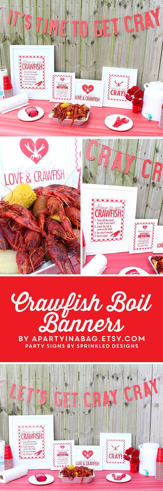 CRAWFISH BOIL It\'s Time To Get Cray Crawfish Boil | Louisiana ...