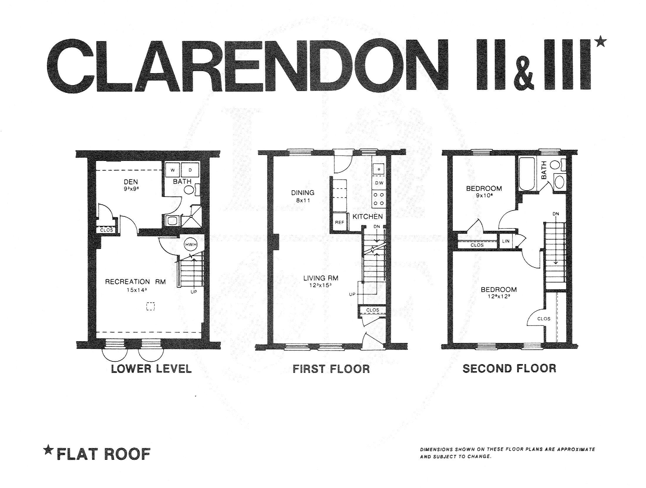 Fairlington Condominium Clarendon Ii Iii Models John Mentis Realtor Clarendon Real Estate Agent Flat Roof