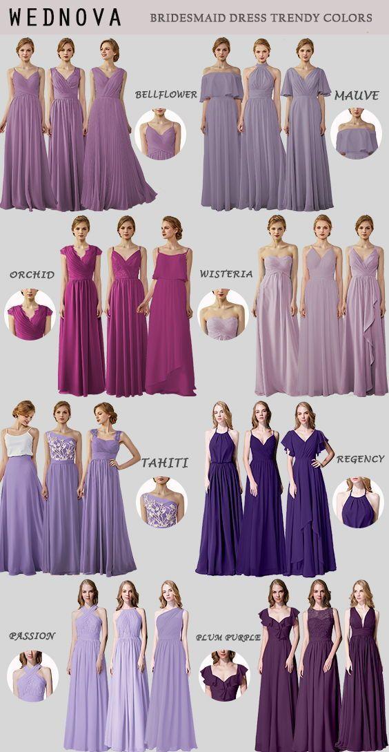Wisteria Bridesmaid Dresses Vines In 2020 Bridesmaid Dresses Mismatched Purple Wisteria Bridesmaid Dresses Bridesmaid Dresses Short Purple