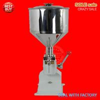 Manual bottle filling machine, A03, 5~50ml, water filler machine, paste filler, liquid, nail polish, cosmetic filling machine