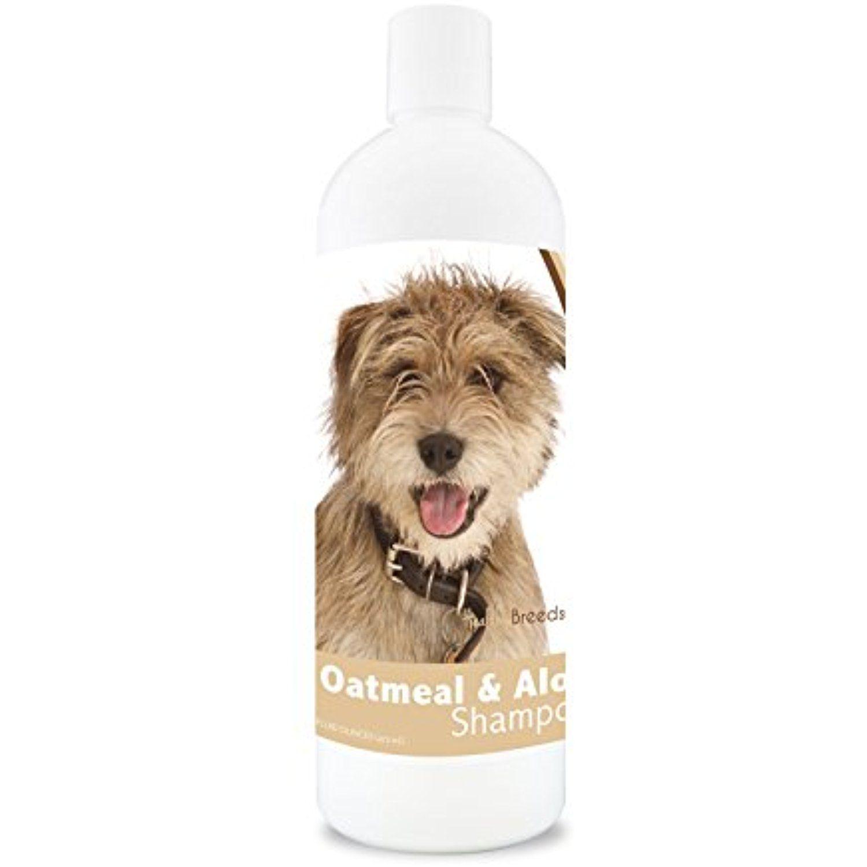 Healthy breeds dog oatmeal shampoo with aloe for mutt