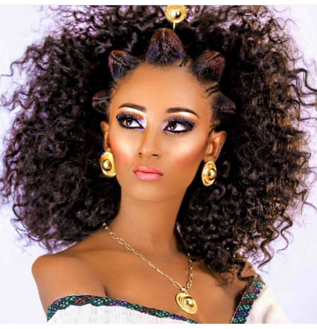 Habesha  Ethiopian hair, Ethiopian beauty, Hair styles