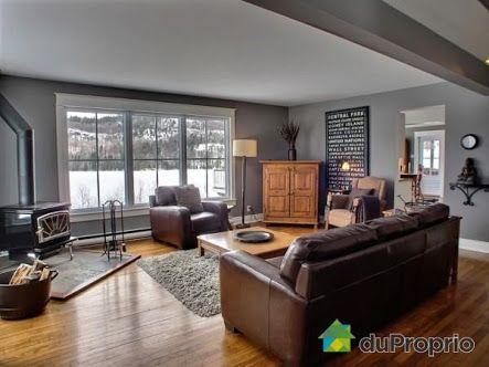 Oak Furniture Grey Walls Google Search Brown Furniture Living