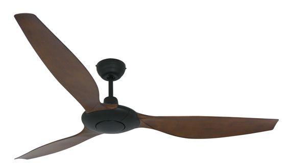 Ventilatore da soffitto SLIM nero/koa