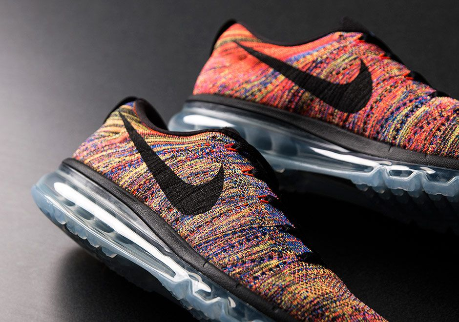 """a1d08bab792b Here s Another Chance At The Famed Nike Flyknit Air Max """"Multi-Color"""""""