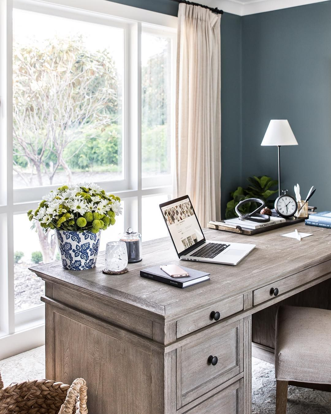 Getting To Work In This Beautiful New Home Office Of Ours