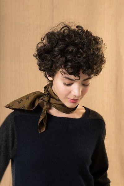 Look 6 en 2019 Coiffures cheveux courts, Cheveux