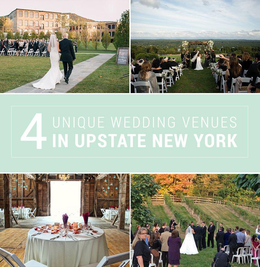 4 unique upstate new york wedding venues New york