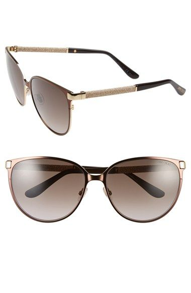 fbacb28777f7 Jimmy Choo 'Posies' 60mm Cat Eye Sunglasses available at #Nordstrom ...