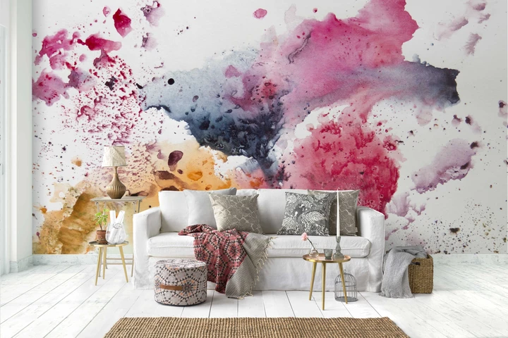 1 3d Watercolor Abstract Graffiti Wall Mural Wallpaper 35 Jessartdecoration In 2020 Abstract Wallpaper Graffiti Wall Wall Murals