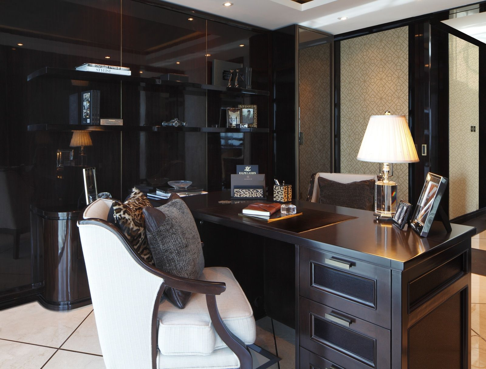 Dubai Office, Sheikh Za Road slide mobile image 3 | Study room ... on ultimate home heating systems, ultimate dream home, cutting edge home design, modern villa design, 3d home design, advanced home design,