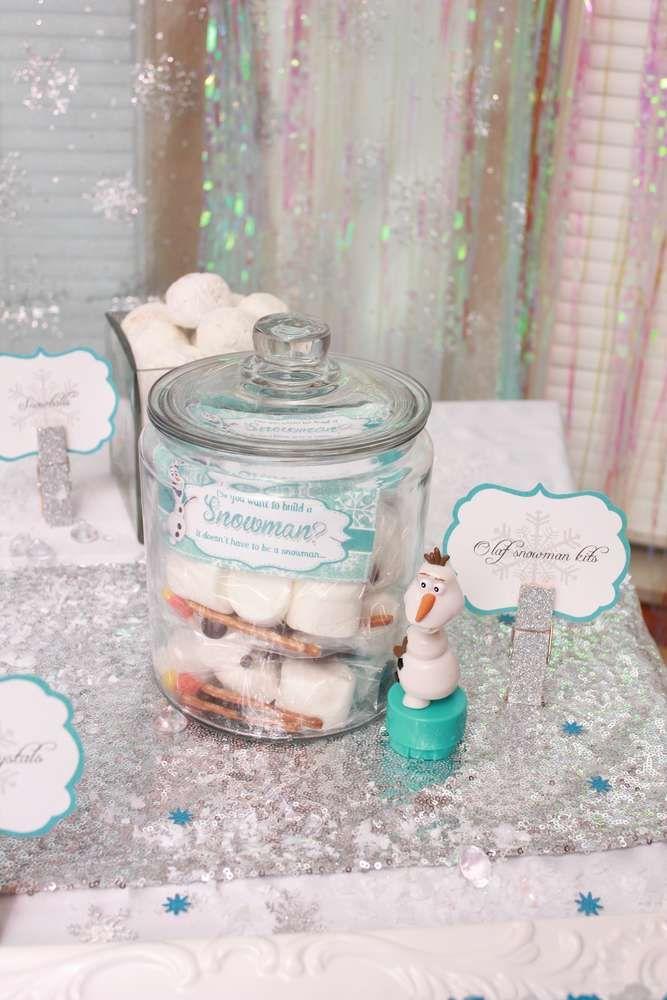 Frozen Disney Birthday Party Ideas Snowman crafts Birthdays and