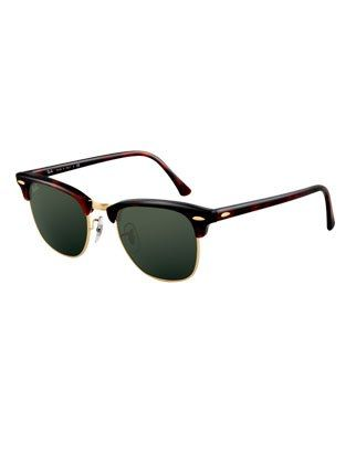 a74474a318c Cheap Ray Ban Clubmaster Sunglasses Mock Tortoise Arista Frame Crystal  Green Lens Outlet For You!