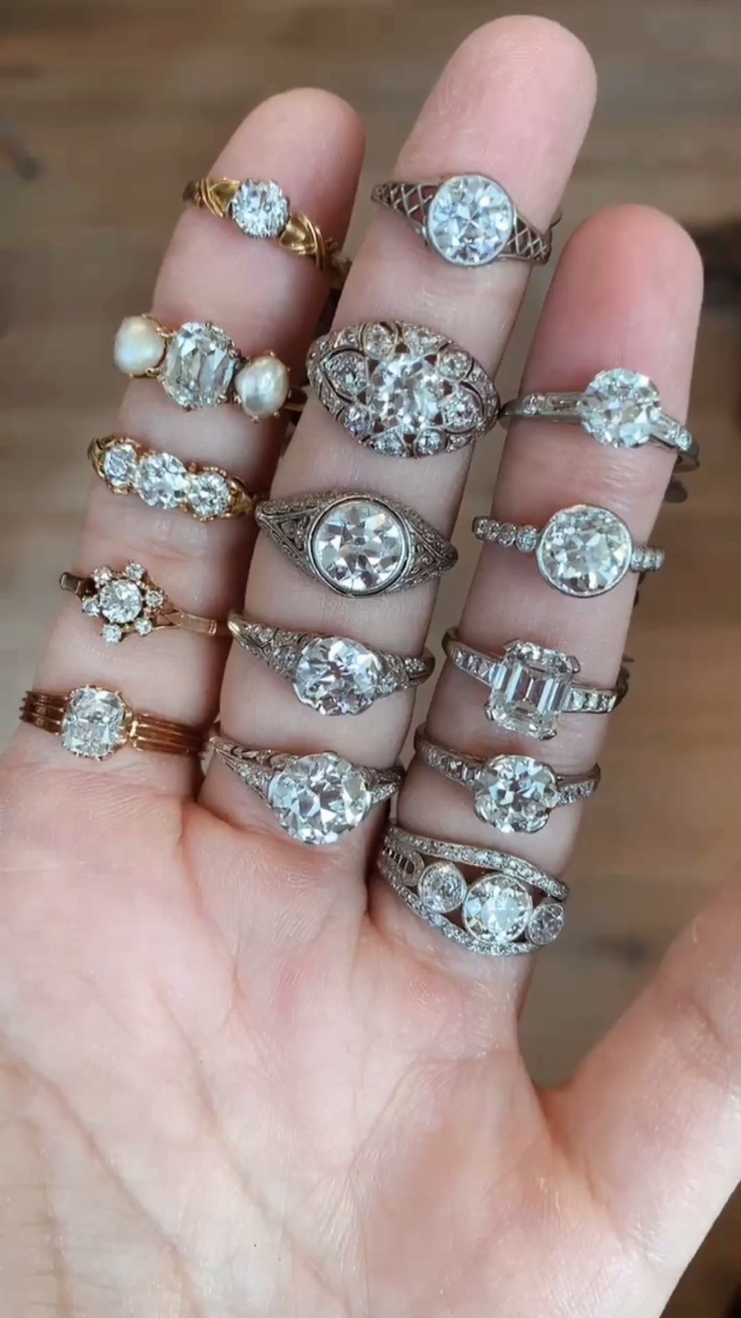 Vintage Engagement Rings from the Victorian > Edwardian