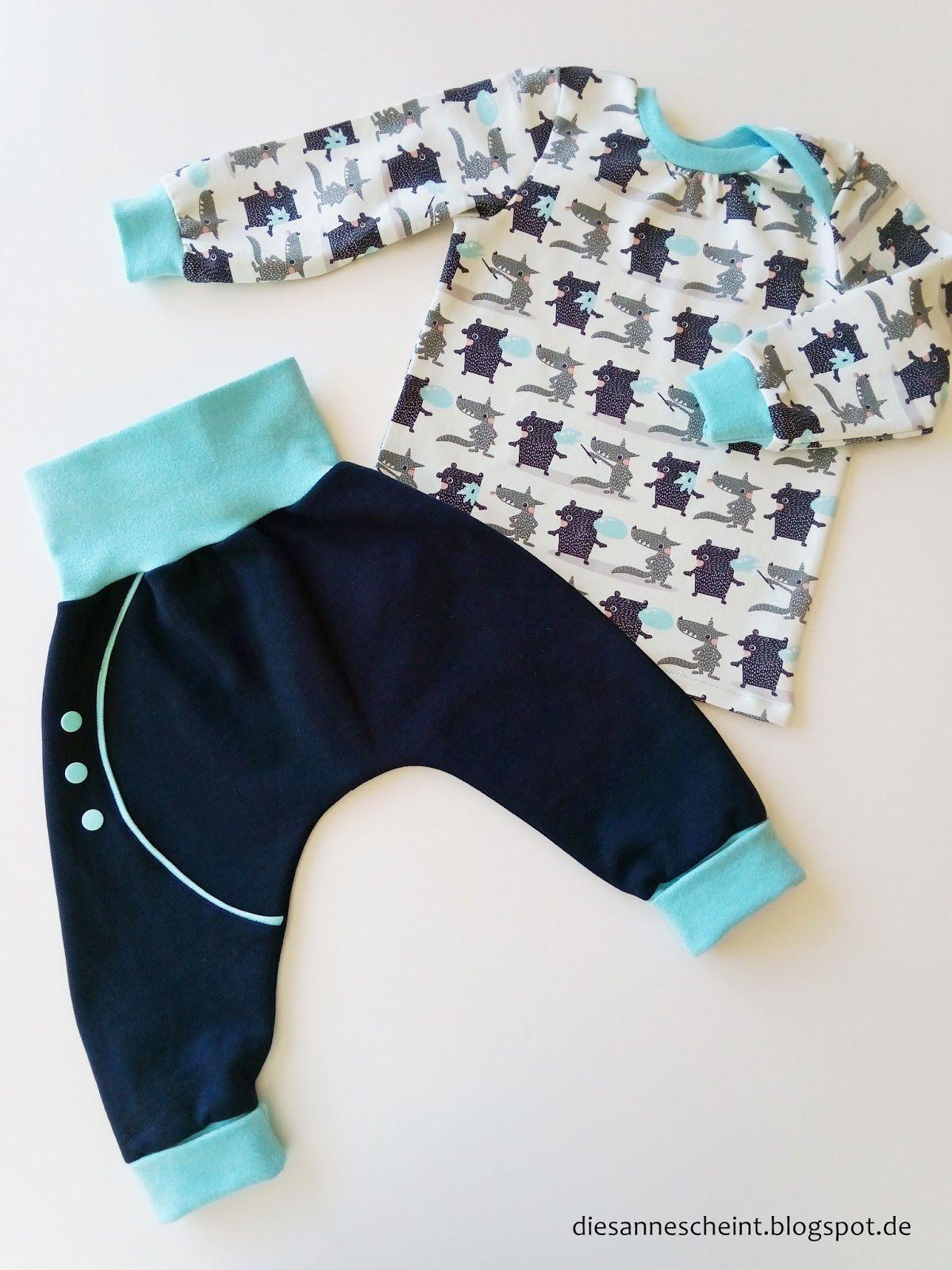Die Sanne scheint Blog Nähen Babykleidung | nähen | Sewing ...