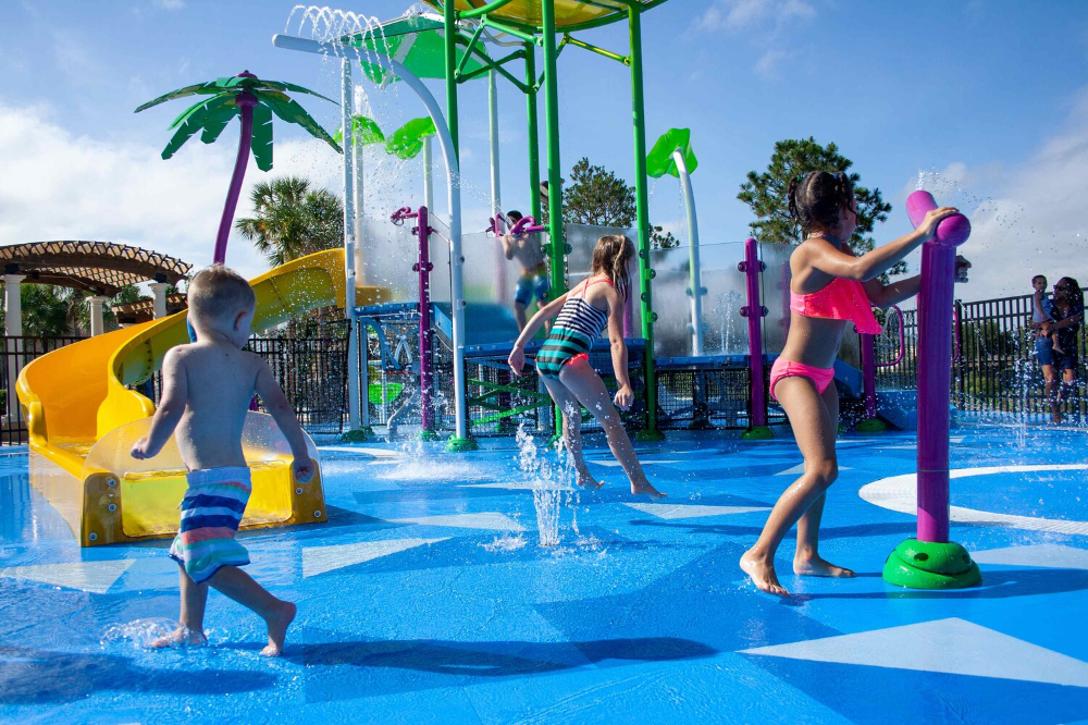 National Water Safety Month Clean Surfaces Make Aquatic Facilities Safer Life Floor Water Safety Facility Water Slides