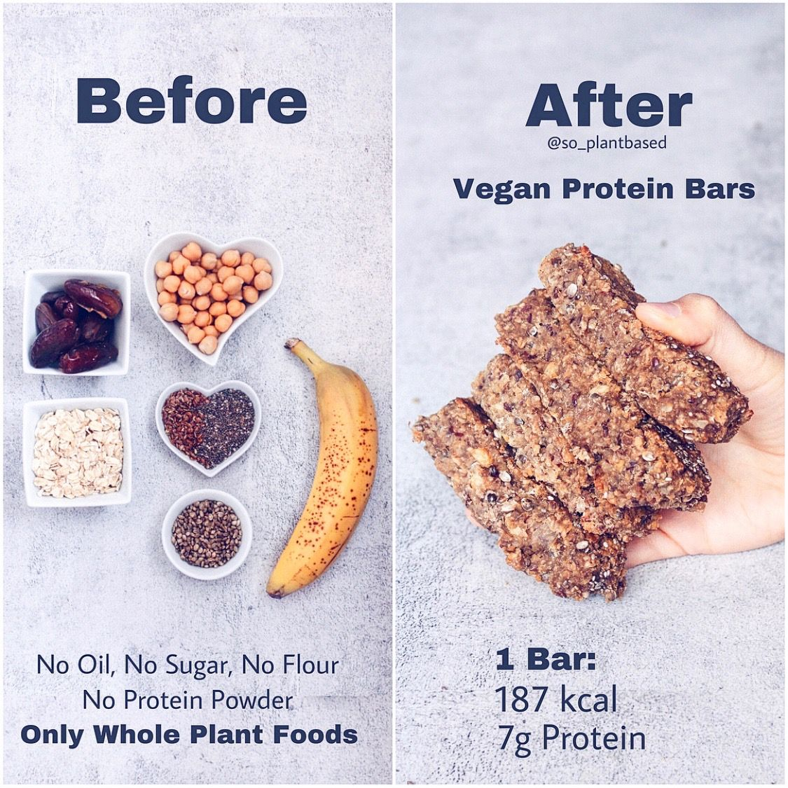 Vegan Protein Bars [Without Protein Powder]