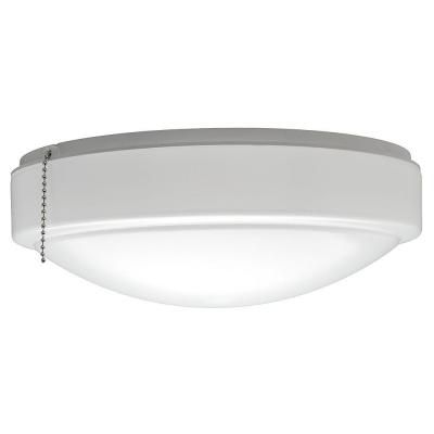 Hampton bay universal led ceiling fan light kit white fan light warm and bright white light universal led ceiling fan light kit 53701101 the home depot aloadofball Image collections