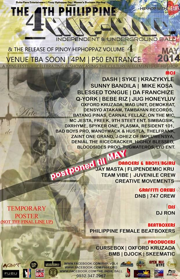 « THE 4TH PHILIPPINE HIP-HOP INDEPENDENT & UNDERGROUND BALL - MAY 2014 »