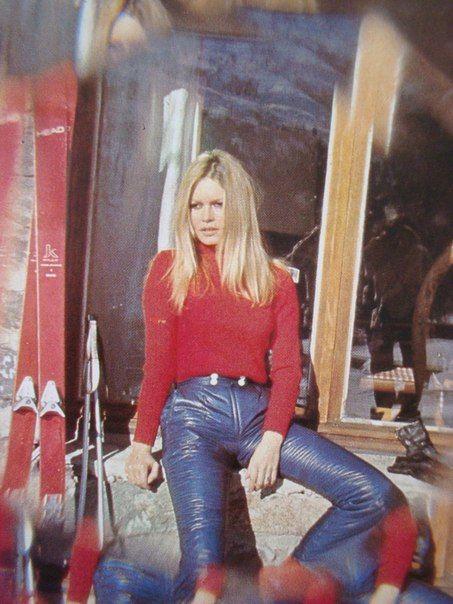 Brigitte Bardot, French Alps, 1960s