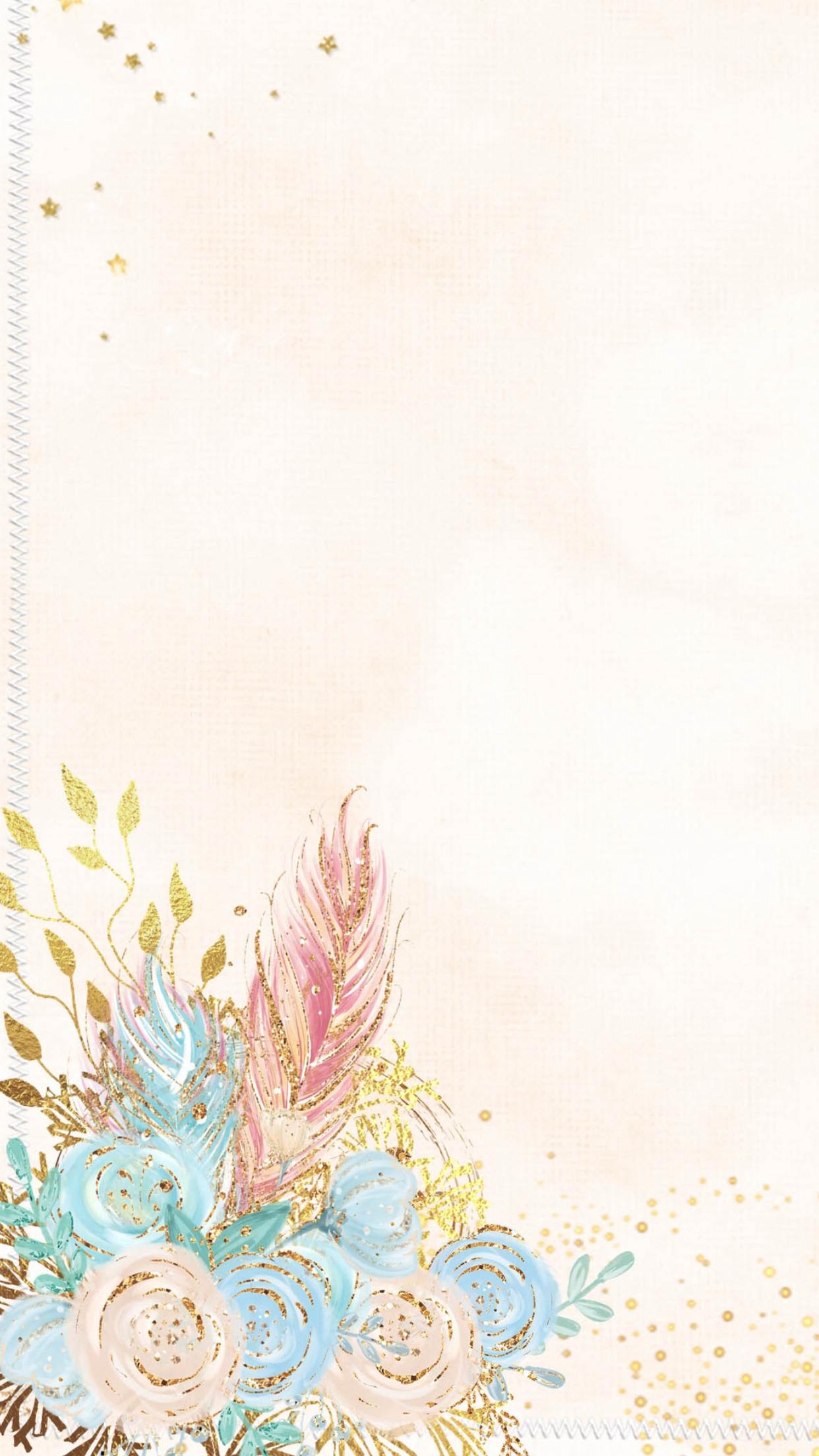 Wallpaper Iphone Mermaid Wallpapers Flower Background Wallpaper Cute Wallpapers