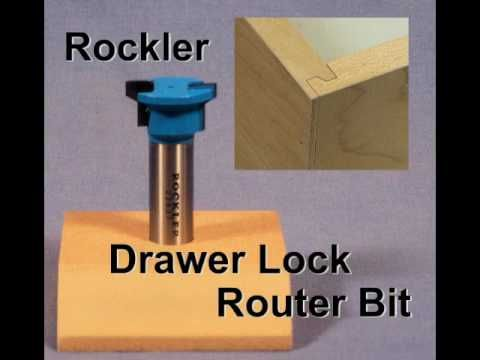 lock lee wood router valley drawer bit page tools drawers us