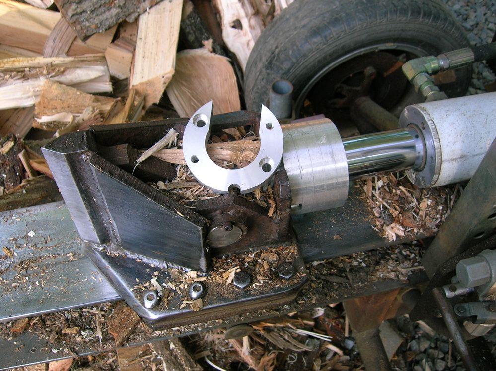 DSCN2206 Wood splitter, Hydraulic log splitter
