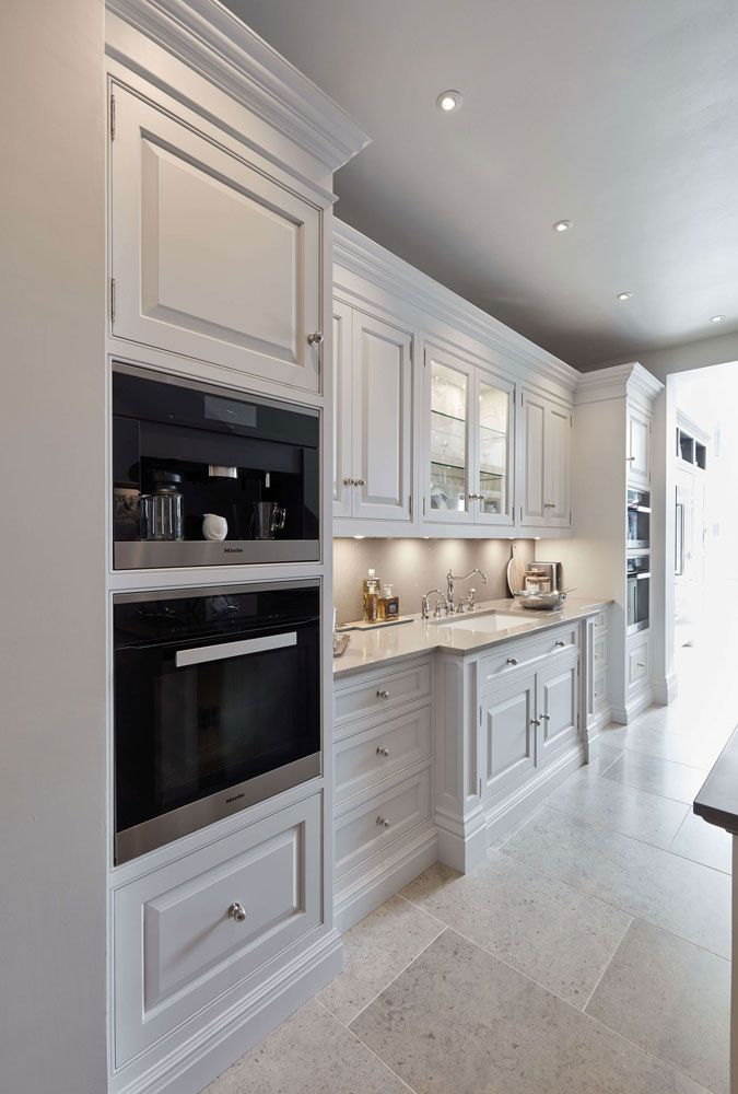 Luxurious White Kitchen | Tom Howley This luxuriou