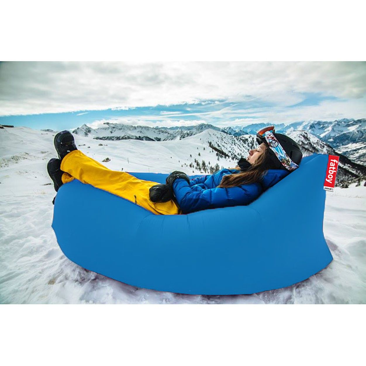 Lamzac C The Original In Color Inflatable Couch Lamzac Hangout Inflatable Furniture