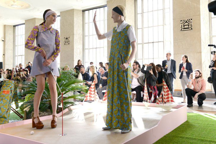 Pin for Later: Everyone Wants to Play With Orla Kiely's Retro Golf Girls Orla Kiely Spring/Summer 2016
