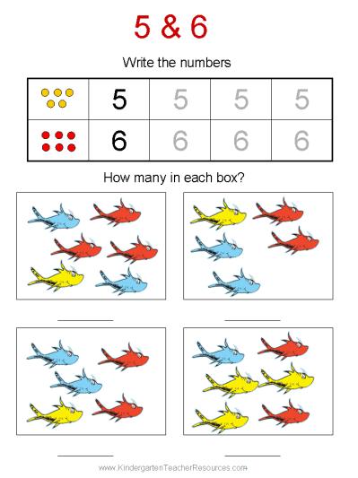 Dr Seuss Math Worksheets Dr Seuss Math Activities Dr Seuss Preschool Dr Seuss Math