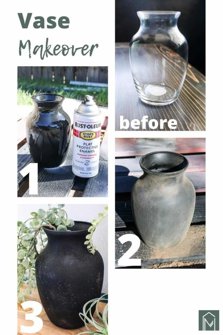 Vintage Pottery From Upcycled Vase (CHEAP DIY