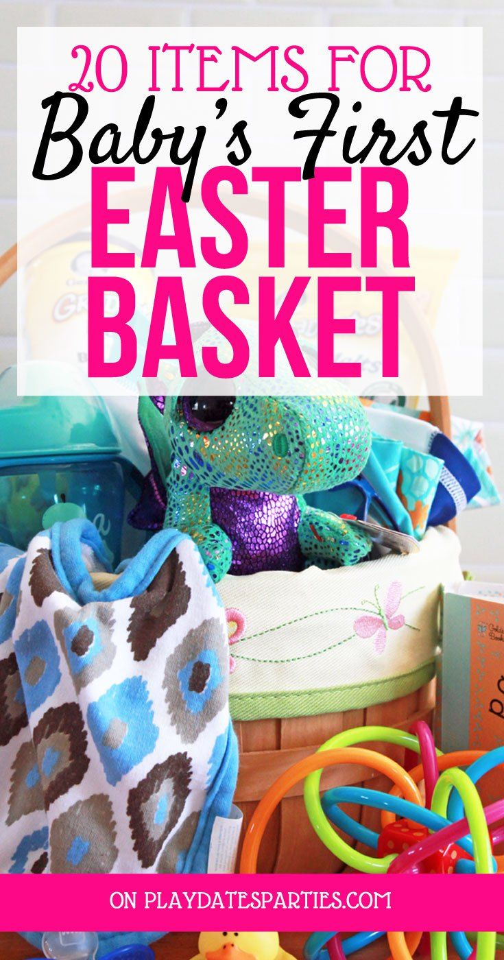 20 items for babys first easter basket easter baskets easter 20 items for babys first easter basket easter baskets easter and babies negle Gallery