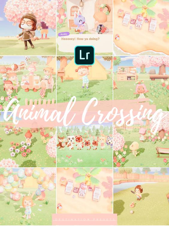 28 Animal Crossing Lightroom Mobile Presets Desktop Pink Preset Pastel Instagram Filter Summer Preset Spring Autumn Winter Acnh New Horizons In 2020 Animal Crossing Summer Instagram Summer Presets
