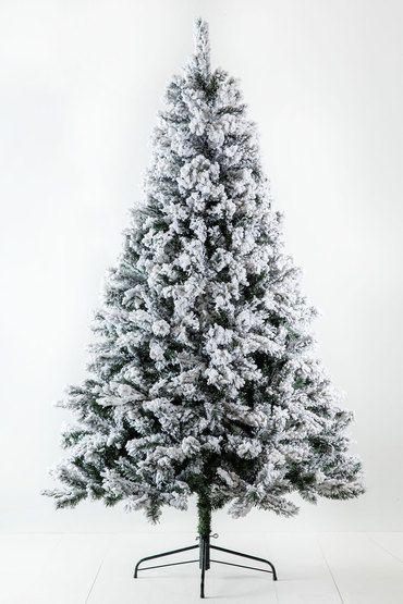 7ft Frosted Christmas Tree Frosted Christmas Tree Christmas Trees Online Christmas Tree