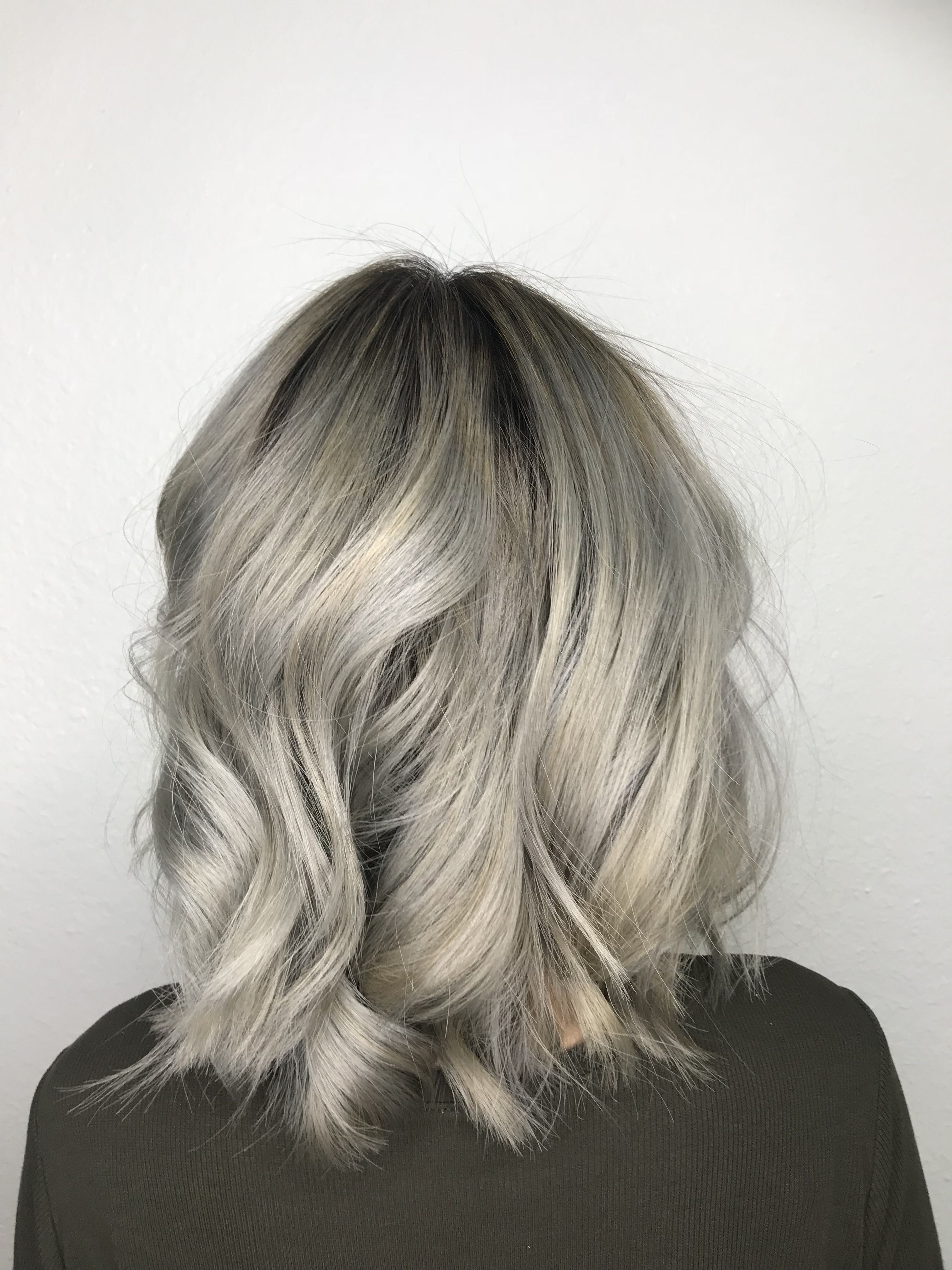 Pin On Fashion Silver Hair Color