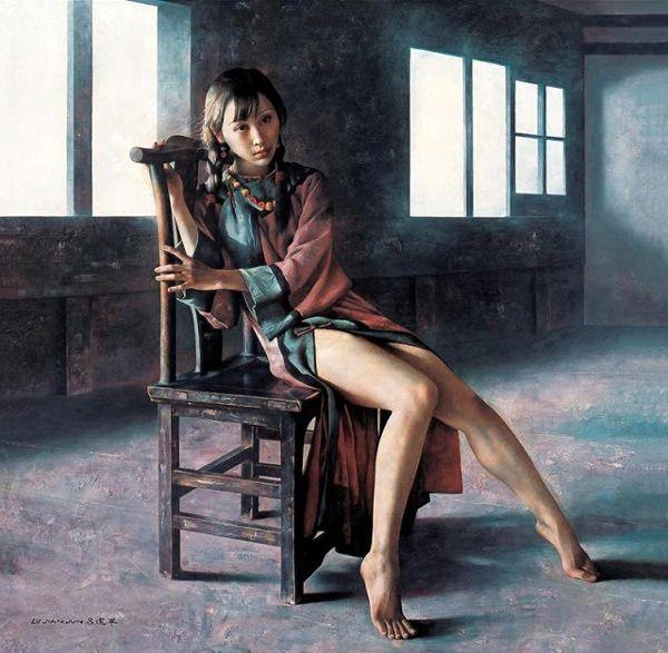 Lu Jian Jun Chinese 1960 In 2020 Art Classic Paintings Oil