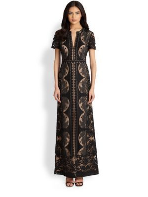 6405a906d65c BCBGMAXAZRIA - Cailean Lace Maxi Dress