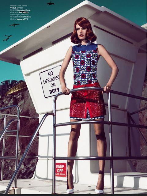 Smartologie: Alessandra Ambrosio for Vogue Brazil March 2013