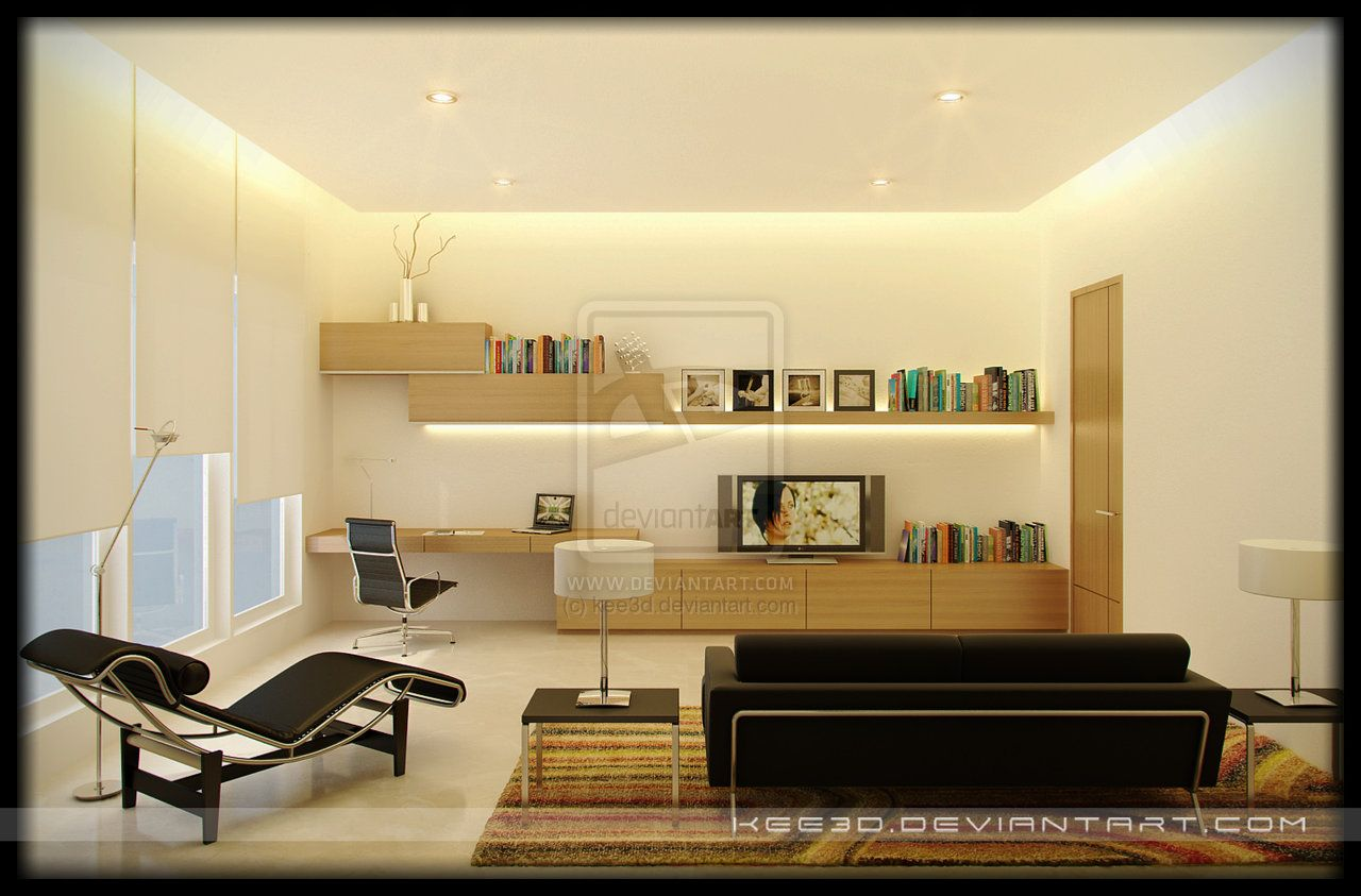 Amazing clever and creative small study room ideas with for Living area design ideas